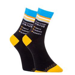 Veselé ponožky Dots Socks s nápisy (DTS-SX-401-A)