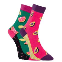 Veselé ponožky Dots Socks s avokádem (DTS-SX-463-Z)
