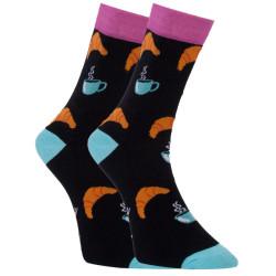 Veselé ponožky Dots Socks snídaně (DTS-SX-419-A)