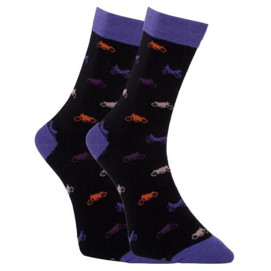 Veselé ponožky Dots Socks motorky (DTS-SX-453-C)