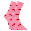 Veselé ponožky Dots Socks s pusinkami (DTS-SX-491-R)