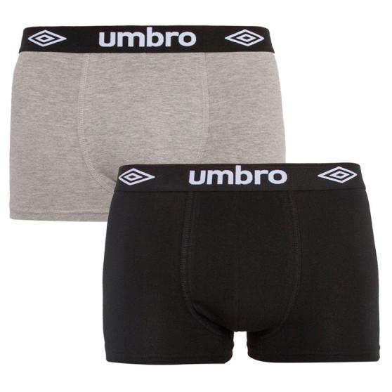 2PACK pánské boxerky Umbro vícebarevné (UMUM0241 E)