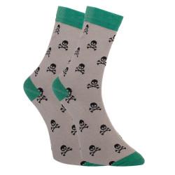 Veselé ponožky Dots Socks s lebkami (DTS-SX-414-S)
