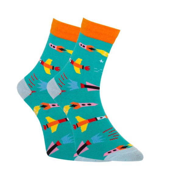 Veselé ponožky Dots Socks rakety (DTS-SX-423-Z)