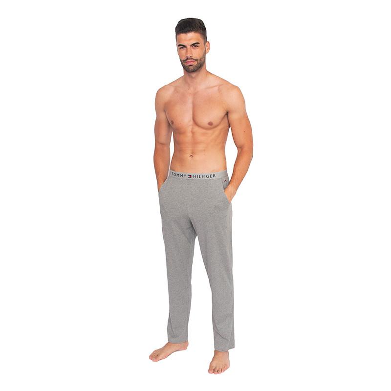 Pánské kalhoty na spaní Tommy Hilfiger šedé (UM0UM01186 004) M