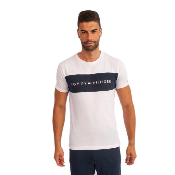Pánské tričko Tommy Hilfiger bílé (UM0UM01170 100)