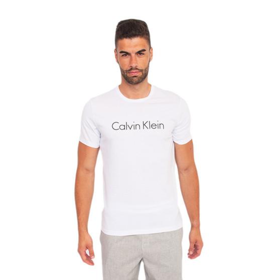 Pánské tričko Calvin Klein bílé (NM1129E-100)