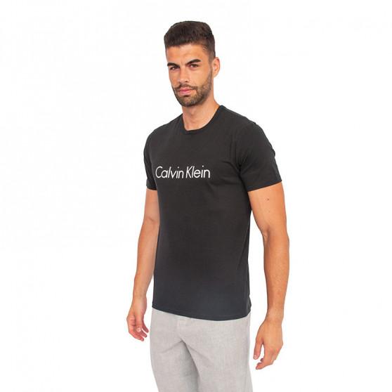 Pánské tričko Calvin Klein černé (NM1129E-001)
