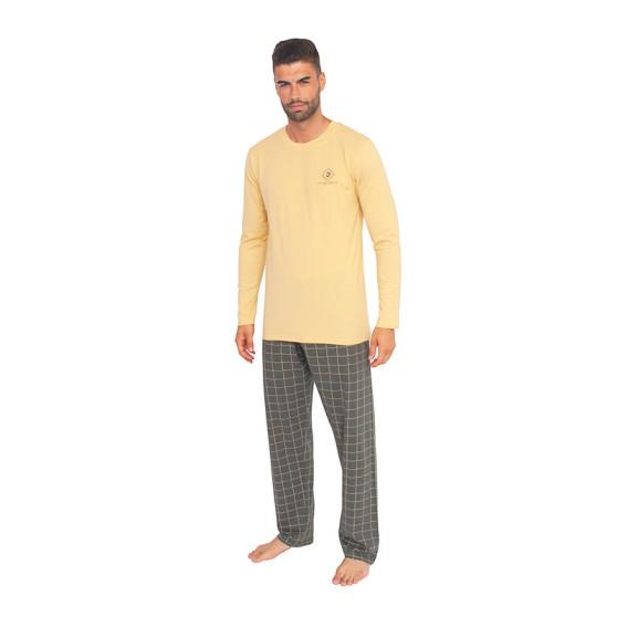 Pánské pyžamo Gino žluté (79079)
