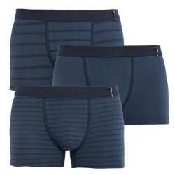3PACK pánské boxerky Jockey modré (17502913 499)