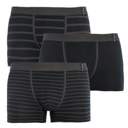3PACK pánské boxerky Jockey černé (17502913 999)