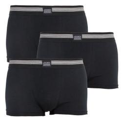 3PACK pánské boxerky Jockey černé (17302913 999)