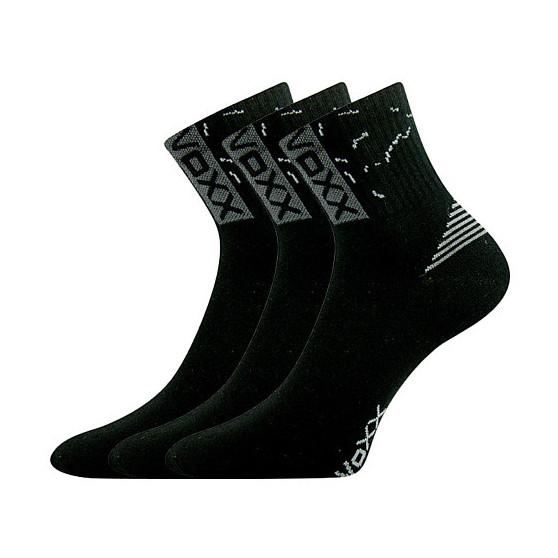 3PACK ponožky VoXX černé (Codex)