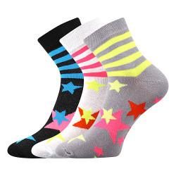 3PACK ponožky Boma vícebarevné (Jana 45)