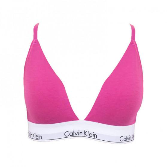 Dámská podprsenka Calvin Klein růžová (QF5650E-BM6)