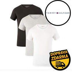 3PACK pánské tričko Tommy Hilfiger vícebarevné (2S87903767 004)