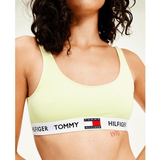 Dámská podprsenka Tommy Hilfiger žlutá (UW0UW02225 ZA6)
