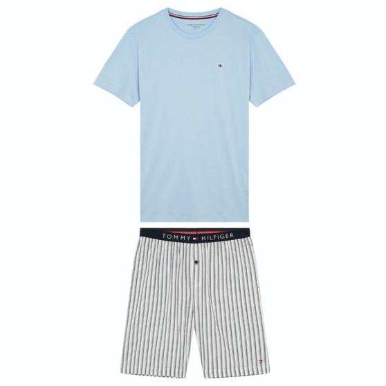 Pánské pyžamo Tommy Hilfiger vícebarevné (UM0UM01851 01L)