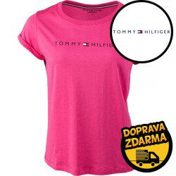 Dámské tričko Tommy Hilfiger růžové (UW0UW01618 TDO)