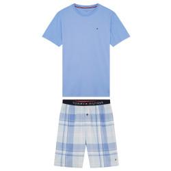 Pánské pyžamo Tommy Hilfiger modré (UM0UM01851 0MZ)