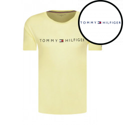 Pánské tričko Tommy Hilfiger žluté (UM0UM01434 ZA6)