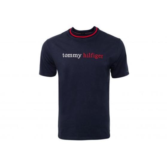 Pánské tričko Tommy Hilfiger modré (UM0UM01784 CHS)