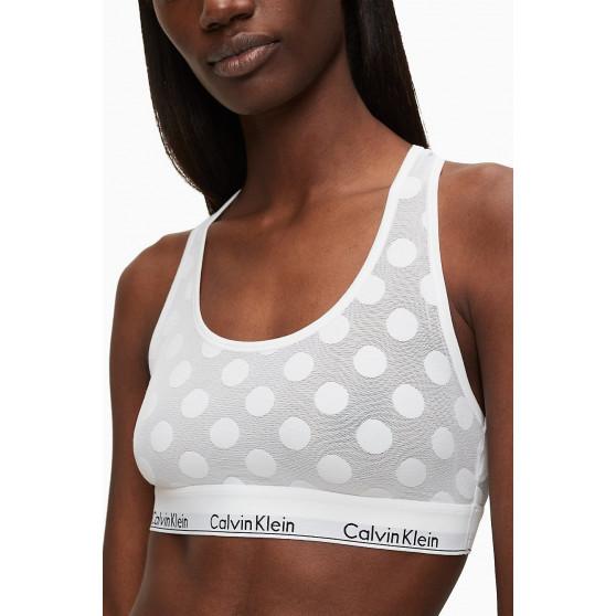 Dámská podprsenka Calvin Klein bílá (QF5847E-100)
