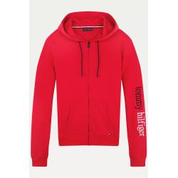 Pánská mikina Tommy Hilfiger červená (UM0UM01799 XCN)