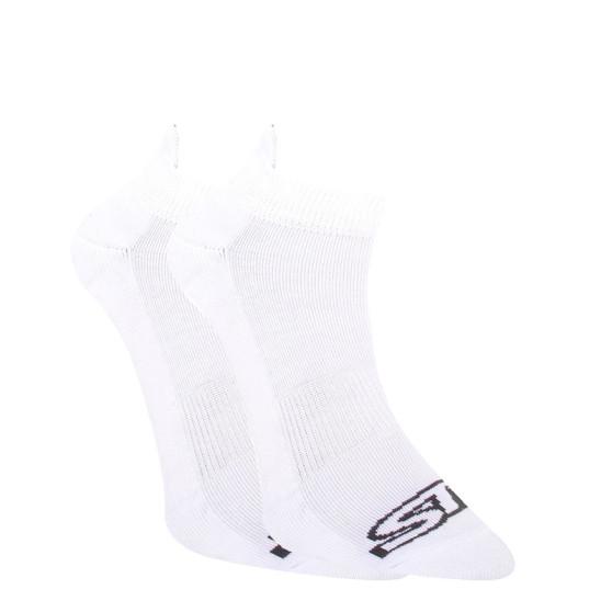 Ponožky Styx nízké bílé s černým logem (HN1061)