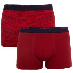 2PACK pánské boxerky S.Oliver červené (26.899.97.8660.38W0)