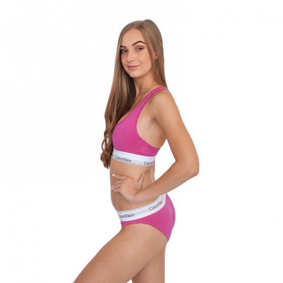 Dámská podprsenka Calvin Klein růžová (F3785E-BM6)