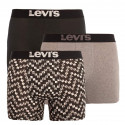 3PACK pánské boxerky Levis vícebarevné (100000522 002)