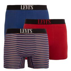 3PACK pánské boxerky Levis vícebarevné (100000523 001)