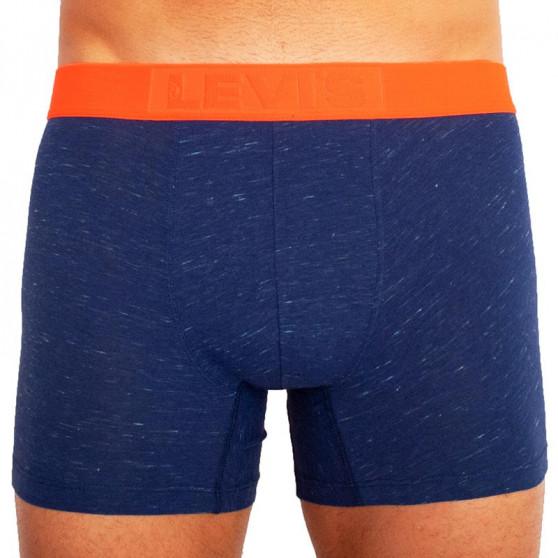 2PACK pánské boxerky Levis modré (100000501 001)