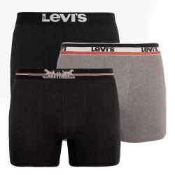 3PACK pánské boxerky Levis vícebarevné (100000520 002)