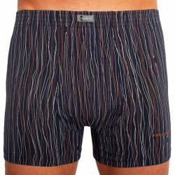 Pánské boxerky Andrie nadrozměr tmavě modré (PS 5285 B)