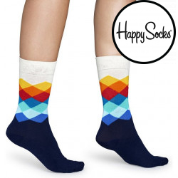 Ponožky Happy Socks Faded Diamond (FD01-105)
