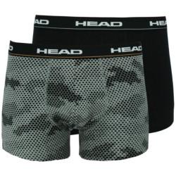 2PACK pánské boxerky HEAD vícebarevné (801201001 004)