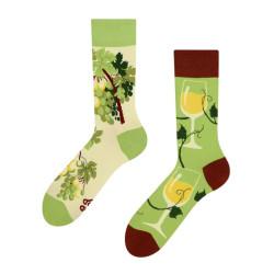 Veselé ponožky Dedoles bílé víno GMRS056 (Good Mood)