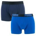 2PACK pánské boxerky Puma modré (601007001 001)