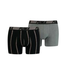 2PACK pánské boxerky Puma vícebarevné (601003001 003)