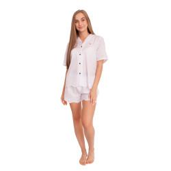 Dámské pyžamo Tommy Hilfiger bílé (UW0UW02322 YCD)