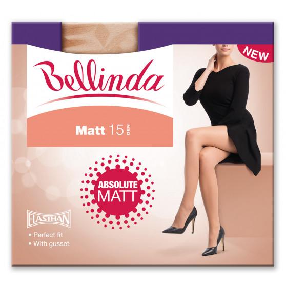 Dámské silonové punčochy Bellinda jantarové (225021-0230)