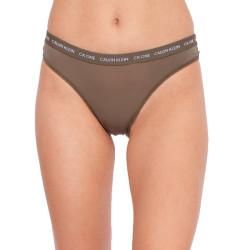 Dámské kalhotky CK ONE khaki (QD3797E-MP8)