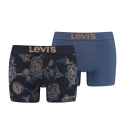 2PACK pánské boxerky Levis vícebarevné (100000510 004)