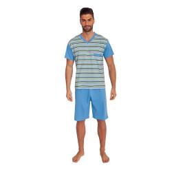 Pánské pyžamo Foltýn modré (FPK5)