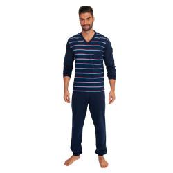 Pánské pyžamo Foltýn tmavě modré (FPD2)