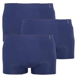 3PACK pánské boxerky Stillo tmavě modré (STP-0090909)