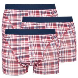 3PACK pánské boxerky Stillo vínové (STP-0131313)
