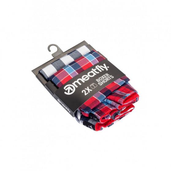2PACK pánské trenky Meatfly vícebarevné (Jukebox 20 - F)